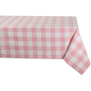 Pink Buffalo check 100% cotton Oversized tablecloths